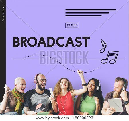 Broadcast Audio Music Streaming Online Entertainment Media