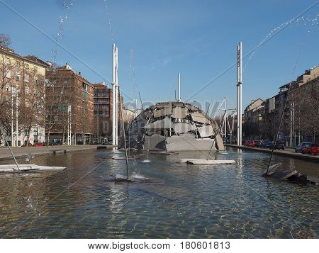 Merz Igloo Fountain In Turin