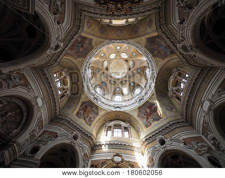 San Lorenzo Church In Turin
