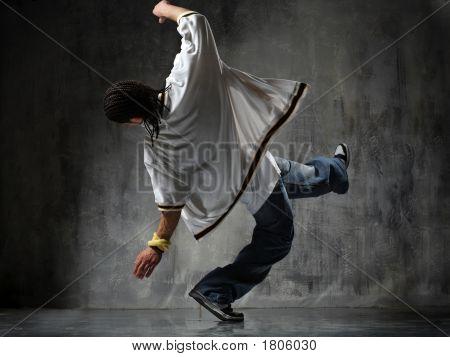 Falling Breakdancer