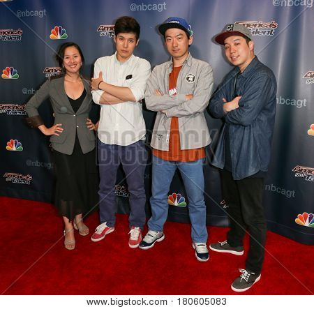 NEW YORK-AUG 12: Animation Crew attends the 'America's Got Talent' Season 10 Results Show at Radio City Music Hall on August 12, 2015 in New York City.