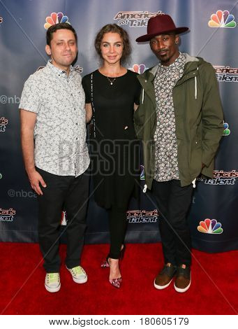 NEW YORK-AUG 12: Freckled Sky attends the 'America's Got Talent' Season 10 Results Show at Radio City Music Hall on August 12, 2015 in New York City.