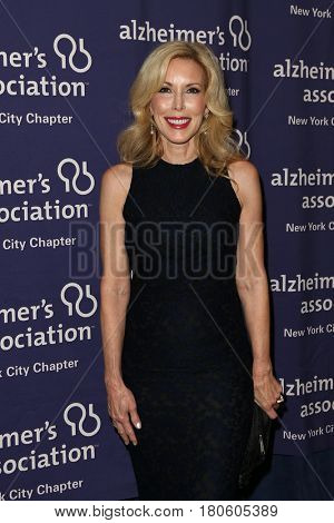 NEW YORK-JUN 8: Kim Campbell, wife of singer Glen Campbell, attends Alzheimer's Association New York City Chapter's 2015