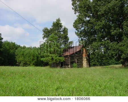 Old Barn Or Farm House