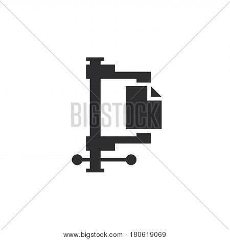 Archive Icon Vector, Solid Logo Illustration, Pictogram Isolated On White