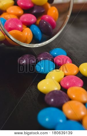 sweets in jar colorful candy treat, smarties