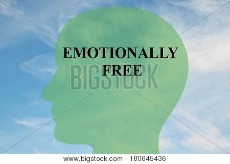Emotionally Free - Mental Concept