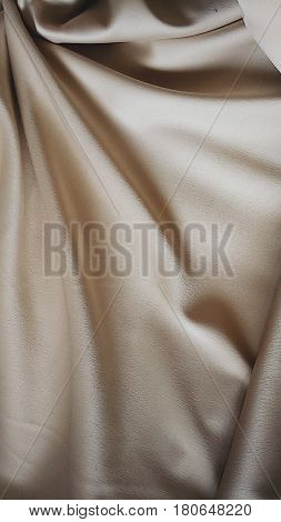 Beige satin, beige fabric,  beautiful texture, Processed with VSCO with 4 preset