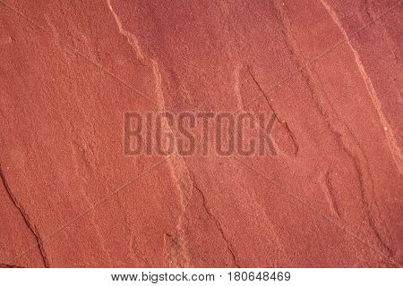 Red sand stone from Mars Rock concept texture background.