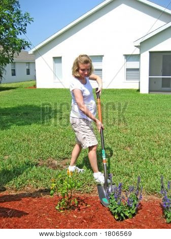 Expectant Mother Gardening 6