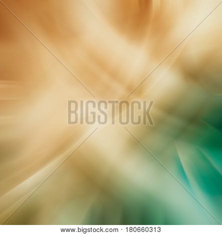 Abstract Old Chaotic Pattern With Colorful Translucent Curved Li