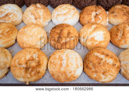 Sweet and Savory Grilled Coconut-Rice Hotcakes Coconut Rice Cake