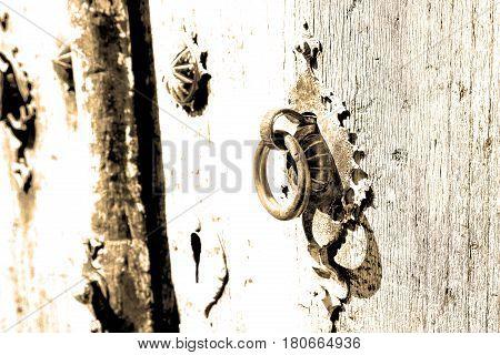 In Iran Antique  Door Entrance