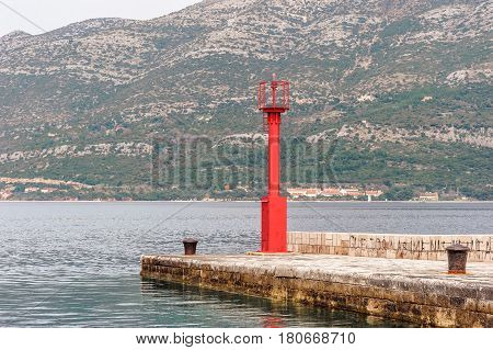 Parts Of The Old Town Of Korcula On The Island Of Korcula, Croatia
