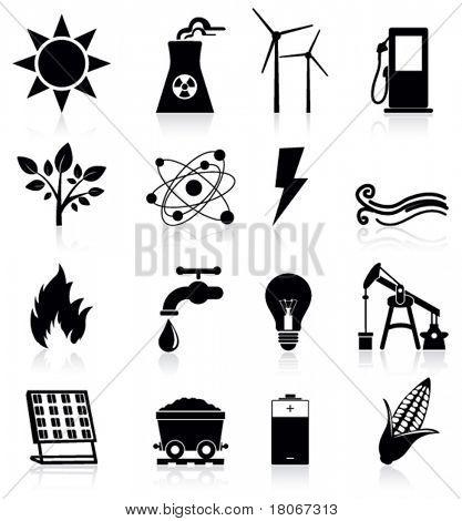 Iconos de la energía