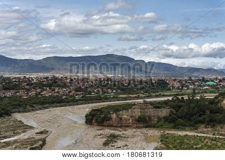 Bolivian City Of Tarija