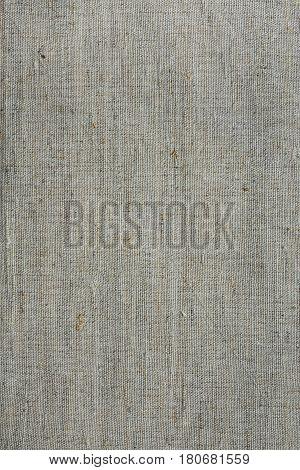 Rough linen canvas fabric texture background woven wallpaper light grey and beige tones high resolution