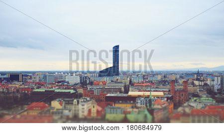 Skyscraper In Wroclaw