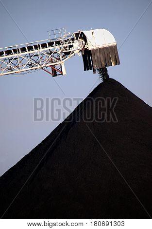 Coal Ship Unloading