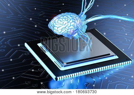 Brain On Cpu Chip