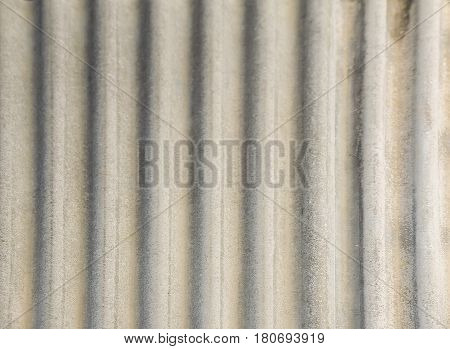 grey asbestos roof texture pattern background in house.