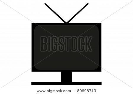 monitor icon vector illustrations , television icon , display icon