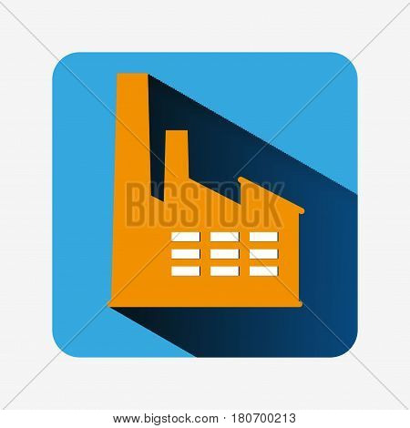 Factory Icon Isolated