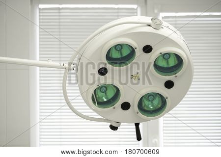 Lamp an operating room
