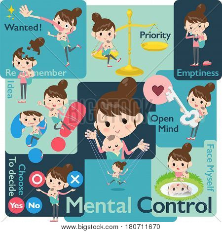 Mother And Baby Mental & Volition