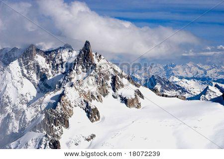 Mountain Winter View