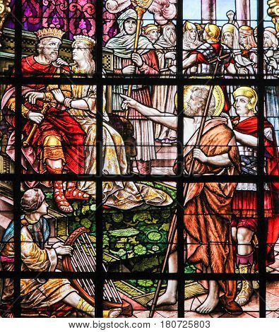 Stained Glass - Saint John The Baptist