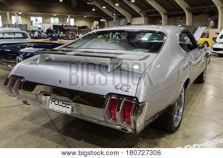 Oldsmobile 442 Foose On Display