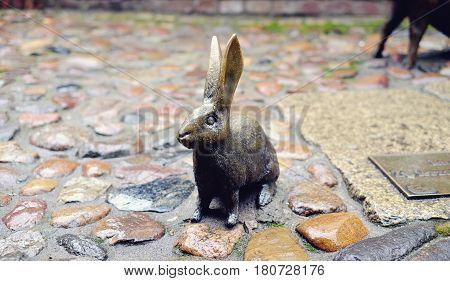 Sculpture Of A Rabbit