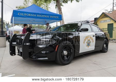 Lapd Dodge Charger On Display