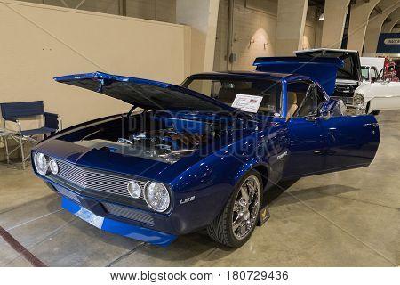 Chevrolet Camaro Ls2 On Display