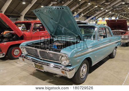 Ford Falcon On Display
