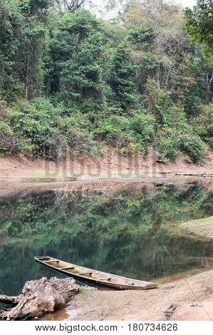 The River At The Village Of Ban Kong Lo