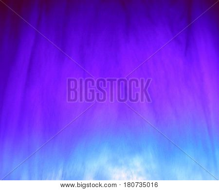 Mystical lighting fantasy esoteric violet blue tone mist background