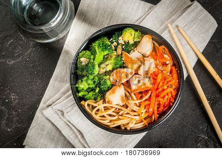 Buddha Bowl In Asian Style