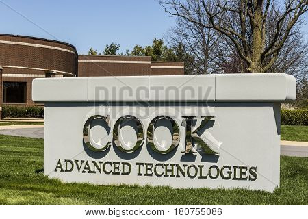 West Lafayette - Circa April 2017: Cook Advanced Technologies, A Subsidiary Of The Cook Group Ii