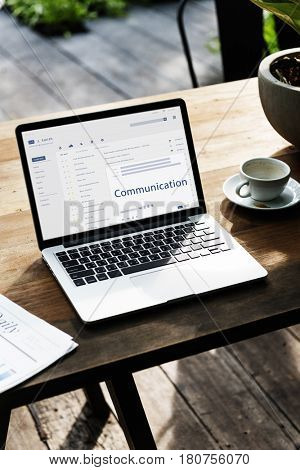 Email is digital technology for an online message.