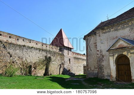 Aiud city romania medieval fortress landmark architecture