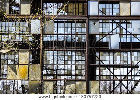 Urban Blight - Old Abandoned Railroad Factory III