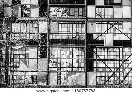 Urban Blight - Old Abandoned Railroad Factory V