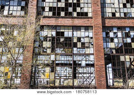 Urban Blight - Old Abandoned Railroad Factory VIII