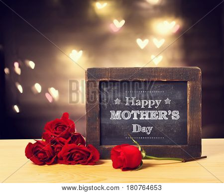 Mothers Day Message With Roses