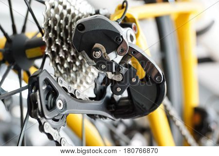 Road bike gear components / bicycles equipment