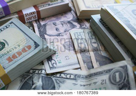 Money ( Bundles Of Money Close Up ) High Quality