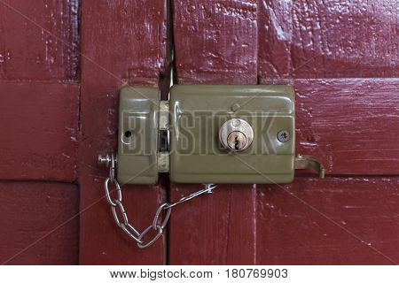 Old Lock Locked