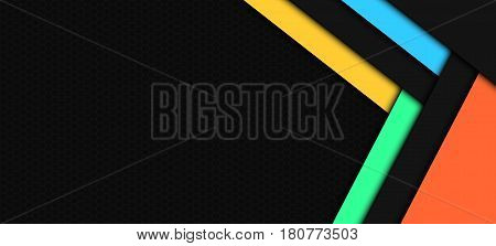 Abstract Background Material Design Frame with Grid. Suitable for Website and Mobile Application Background